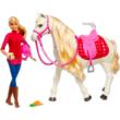 Barbie Dreamhorse: Barbie fehér lóval