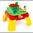 Clemmy Baby Puha, bébi építőjáték szett - Játszó asztal