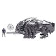Harci Zord minifigurával - Power Rangers - Black Ranger