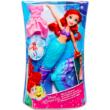 Disney hercegnők: Ariel baba ruhával és levehető uszonnyal