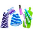Barbie Crayola: Ruhafestő készlet - lila
