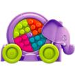 Mega Bloks: Lányos bukfencező elefánt