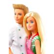 Barbie: Cukrász Barbie és Ken baba - 2 darabos szett kiegészítőkkel