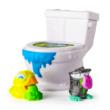 Flush Force: Mutáns figurák WC-ben 2 darabos szett - többféle