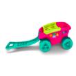 Mega Bloks: formaválogató kiskocsi - rózsaszín