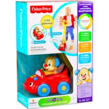 Fisher-Price Kiskutyás tili-toli autó