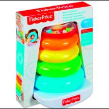 Fisher-Price: Kacagj és Fejlődj! színes gyűrűpiramis