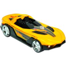 Hot Wheels Hyper Racer villám verseny kisautó - Sárga cabrio
