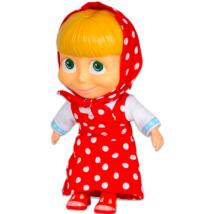 Masha és a Medve: Masha puhatestű baba - 22 cm, több színben