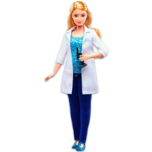 Barbie karrierista babák: kutató Barbie