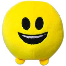 Imoji mosolygós plüsslabda - 11 cm