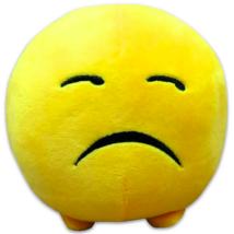 Imoji szomorú plüsslabda - 11 cm