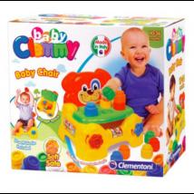 Clemmy Baby Puha, bébi építőjáték szett - Kutyusos szék