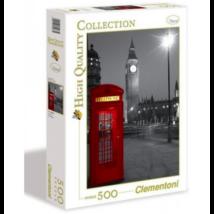 Clementoni London telefonfülkével - 500 darabos puzzle