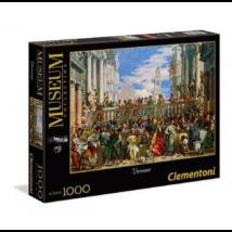 Clementoni Puzzle 1000 A Kánai Menyegző