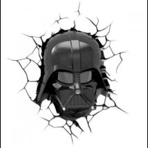 3D LED Fali lámpa Star Wars, Darth Vader