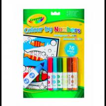Crayola 16 lapos szám szerinti kifestő