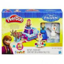 Play-Doh Jégvarázs Anna és a varázsszán gyurmaszett
