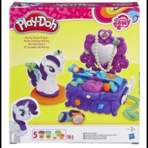 Play-Doh Én kicsi pónim Rarity szépségszalon gyurma szett