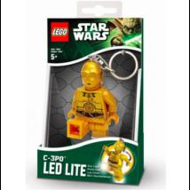 Star Wars világító kulcstartó C3PO