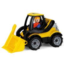 Lena: Truckies földmunkagép figurával - 21 cm