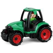 LENA: Truckies Traktor figurával - 17 cm