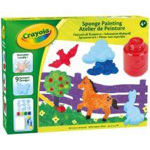 Crayola Szivacsfestő készlet