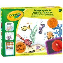 Crayola Nyomda Mánia színező készlet