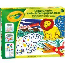 Crayola Kollázs Kreációk rajzoló készlet