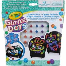 Crayola: Glitteres Dekorgyöngyök - mozaikkép készítő készlet