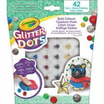 Crayola: Glitteres Dekorgyöngyök: Utántöltő készlet