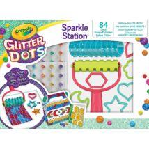 Crayola Glitteres Dekorgyöngyök: Kreatív csillámkészlet