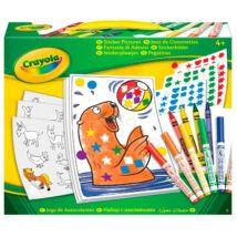 Crayola Mókás Matricázó