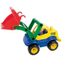 LENA Actives földmunkagép figurával 33cm