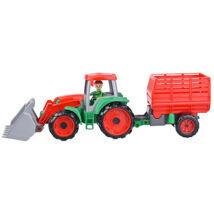 LENA Truxx szénaszállító traktor
