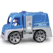 Truxx rendőrségi teherautó figurával - 29 cm