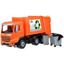 LENA: Mercedes Worxx Arocs szelektív hulladékszállító kukásautó - 54 cm