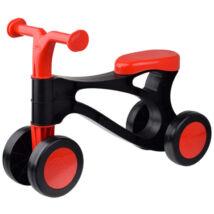 LENA Lábbal hajtós kismotor piros-fekete színben