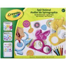 Crayola Spirállatok rajzoló készlet
