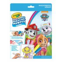 Crayola Color Wonder Maszatmentes kifestő - Mancs őrjárat kutyusai
