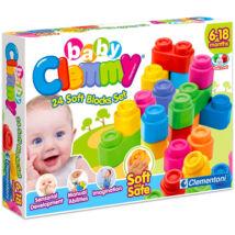 Clemmy My Soft World - 24 db-os építőkocka