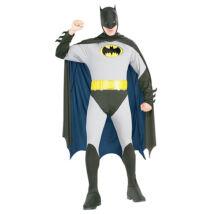 Batman: felnőtt férfi jelmez - S méret