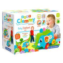 Clemmy Soft: 10 darabos szett elefántos tartóval