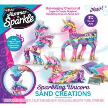 Shimmer and Sparkle: Unikornis dekorhomok készlet