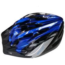 Kerékpáros bukósisak kék színben L méret - Spartan
