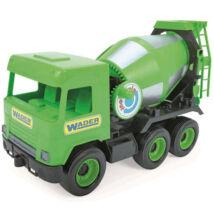Wader Middle Truck Betonkeverő 43 cm zöld