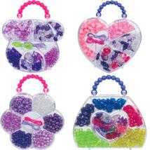 LENA Színes gyöngyszett táskában