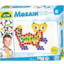 LENA: Mosaik 140db-os 10mm-es átlátszó pötyi