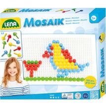 LENA Mosaik Pötyi kreatív szett 10 mm - 100 db-os