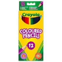 Crayola: 12 db hengeralakú színes ceruza